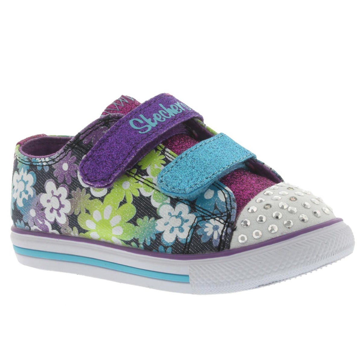 Infants' CHIT CHAT multi flower print sneakers