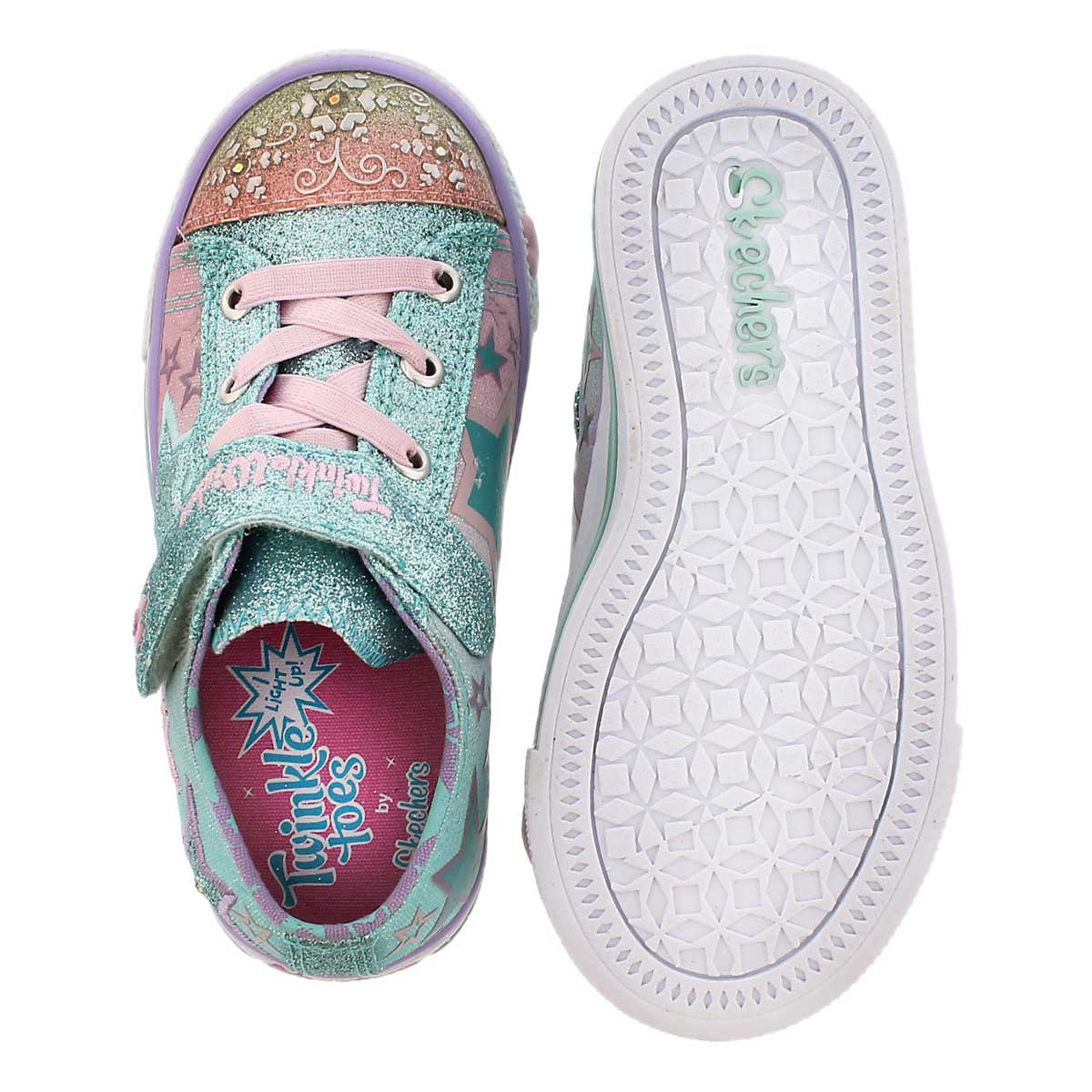 Inf Enchanters multi light up sneaker