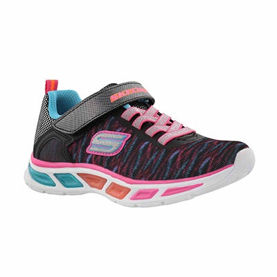 Grls Litebeams multi lightup sneaker