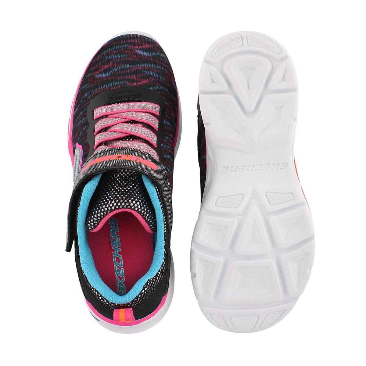 Grls Litebeams multi lightup sneaker