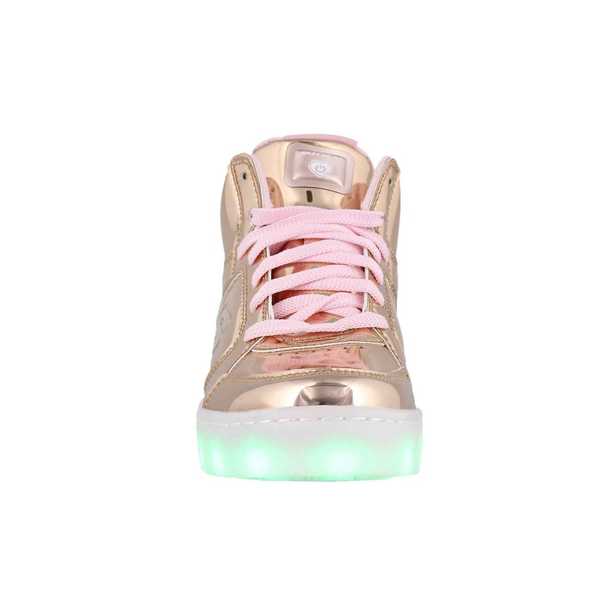 Grls Energy Lights rose gold sneaker