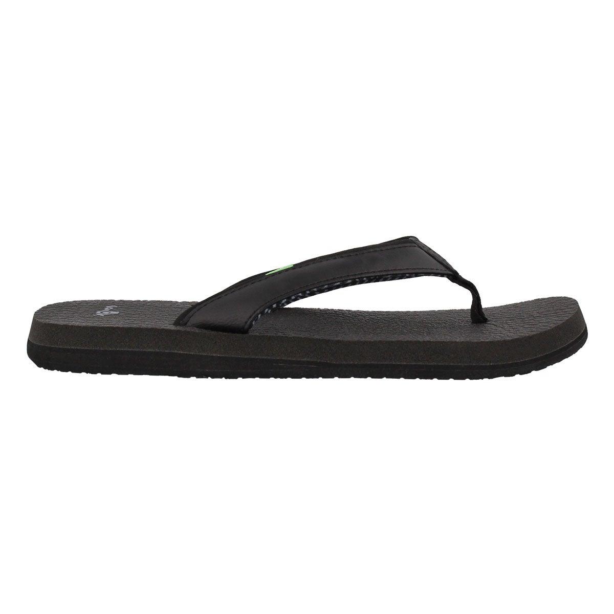 Lds Yoga Mat 2 black flip flop