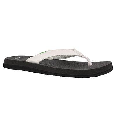 Lds Yoga Mat 2 white flip flop