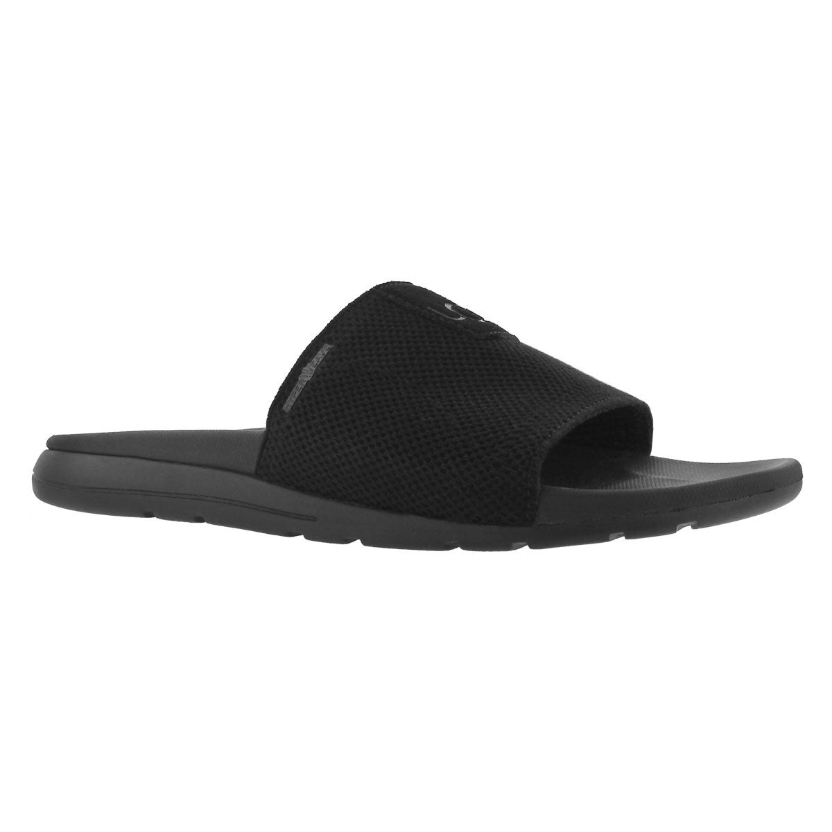 Mns Xavier HyperWeave black casual slide