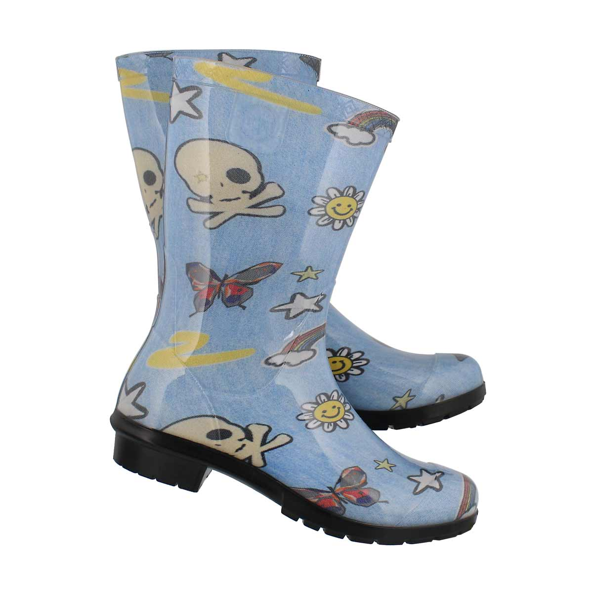 Kds Raana Patches dnm mlt wtpf rain boot