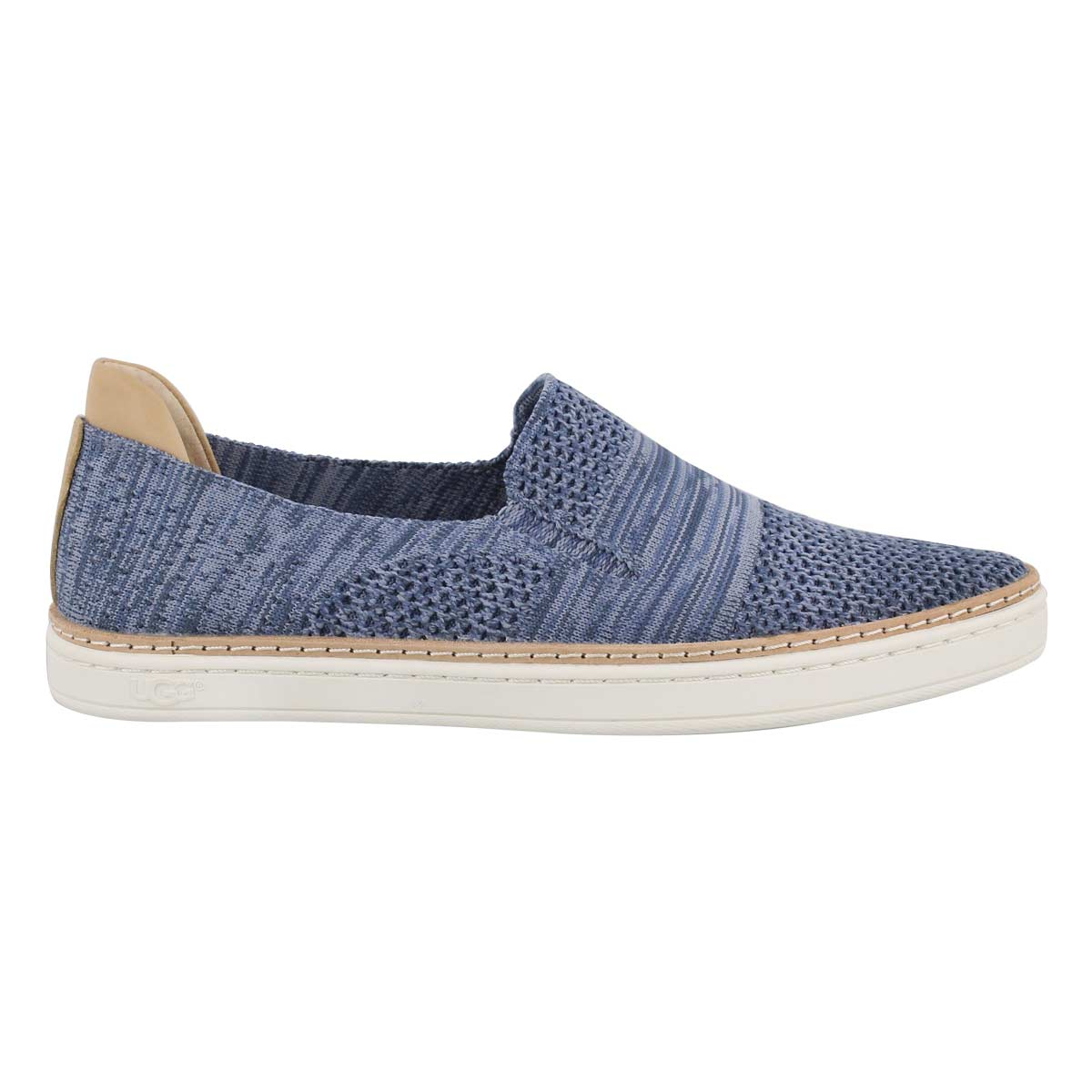 Lds Sammy nvy hthr casual slip on shoe