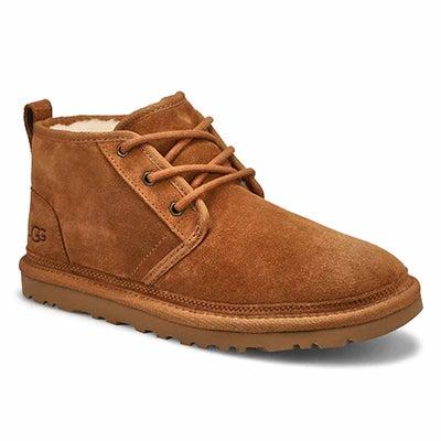 Lds Neumel chestnut lined chukka boot