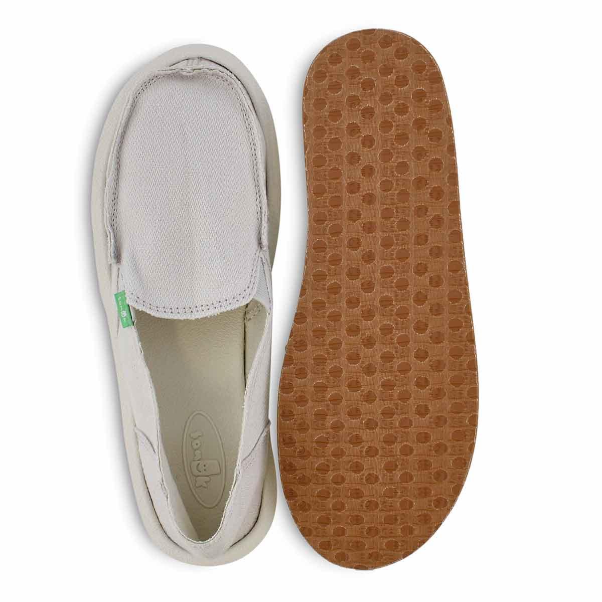 Lds Donna Hemp wind chime slip on shoe