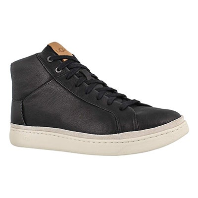 Mns Brecken Lace High black sneaker