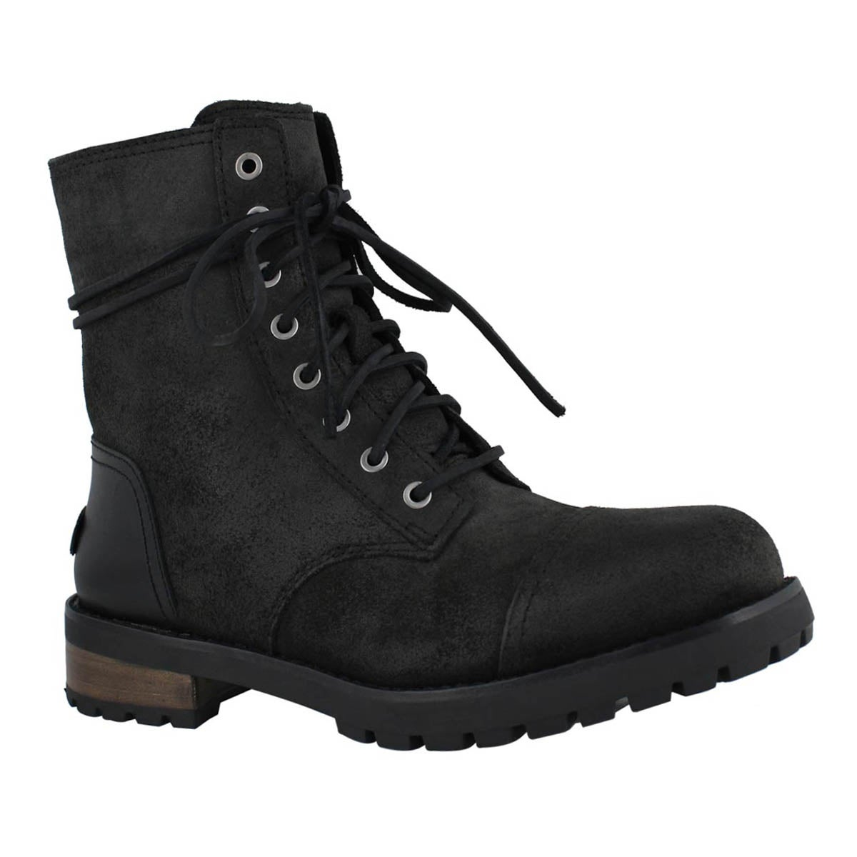 Lds Kilmer II black lace up combat boot