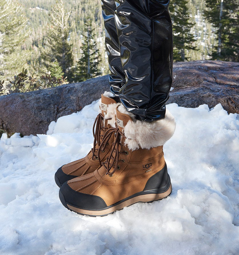 Lds Adirondack III chestnut winter boot