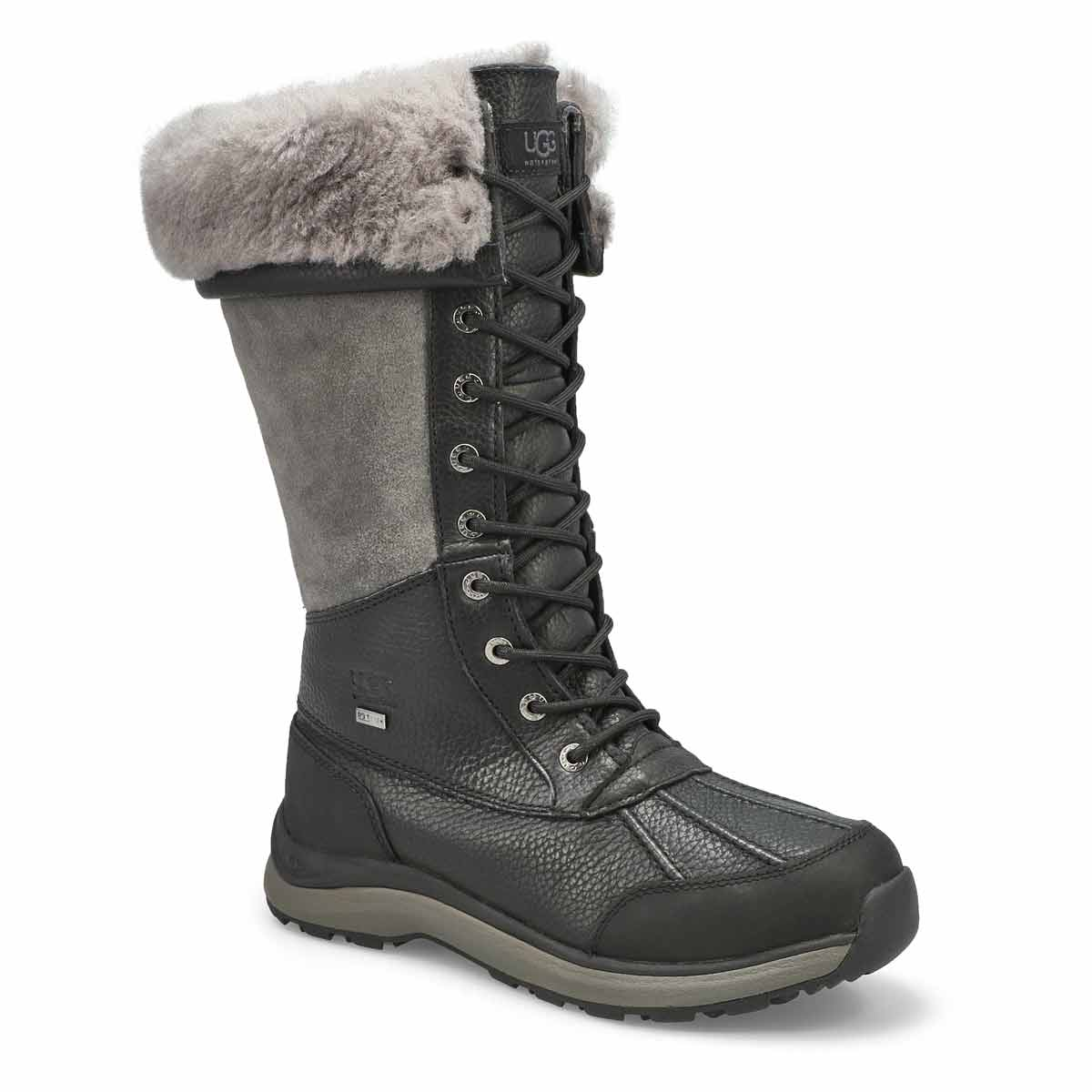 Lds AdirondackTall III black winter boot