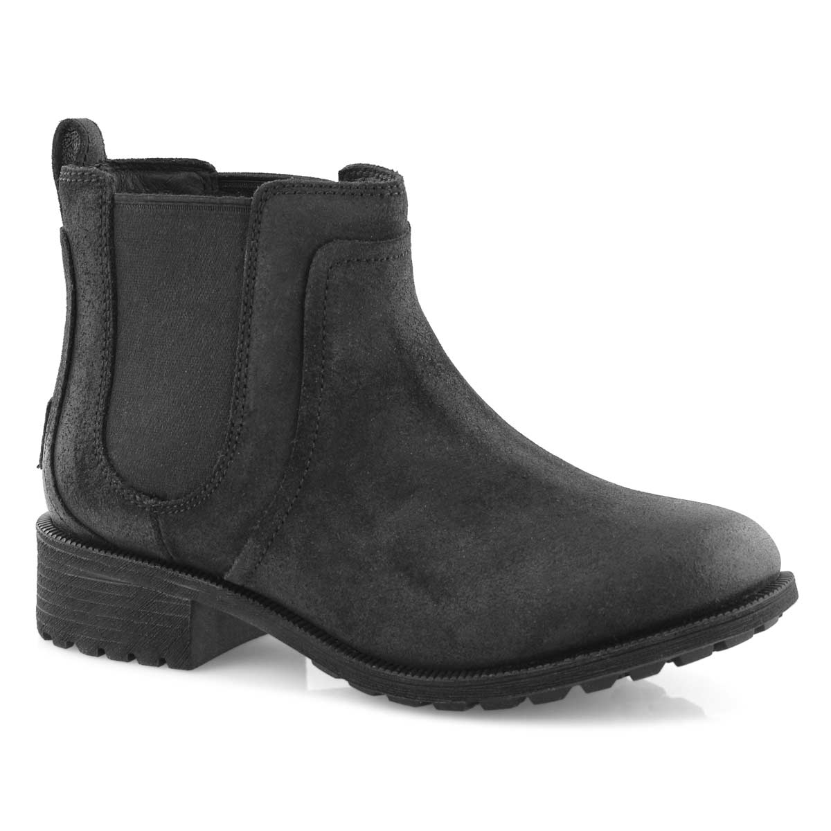 Women\u0027s BONHAM II black waterproof chelsea boots