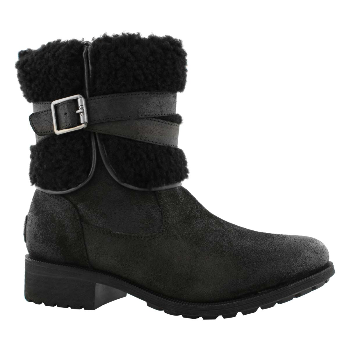 Lds Blayre III black wtpf ankle boot
