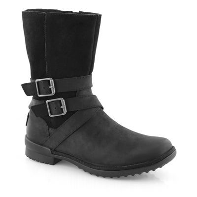Lds Lorna black side zip wtpf boot