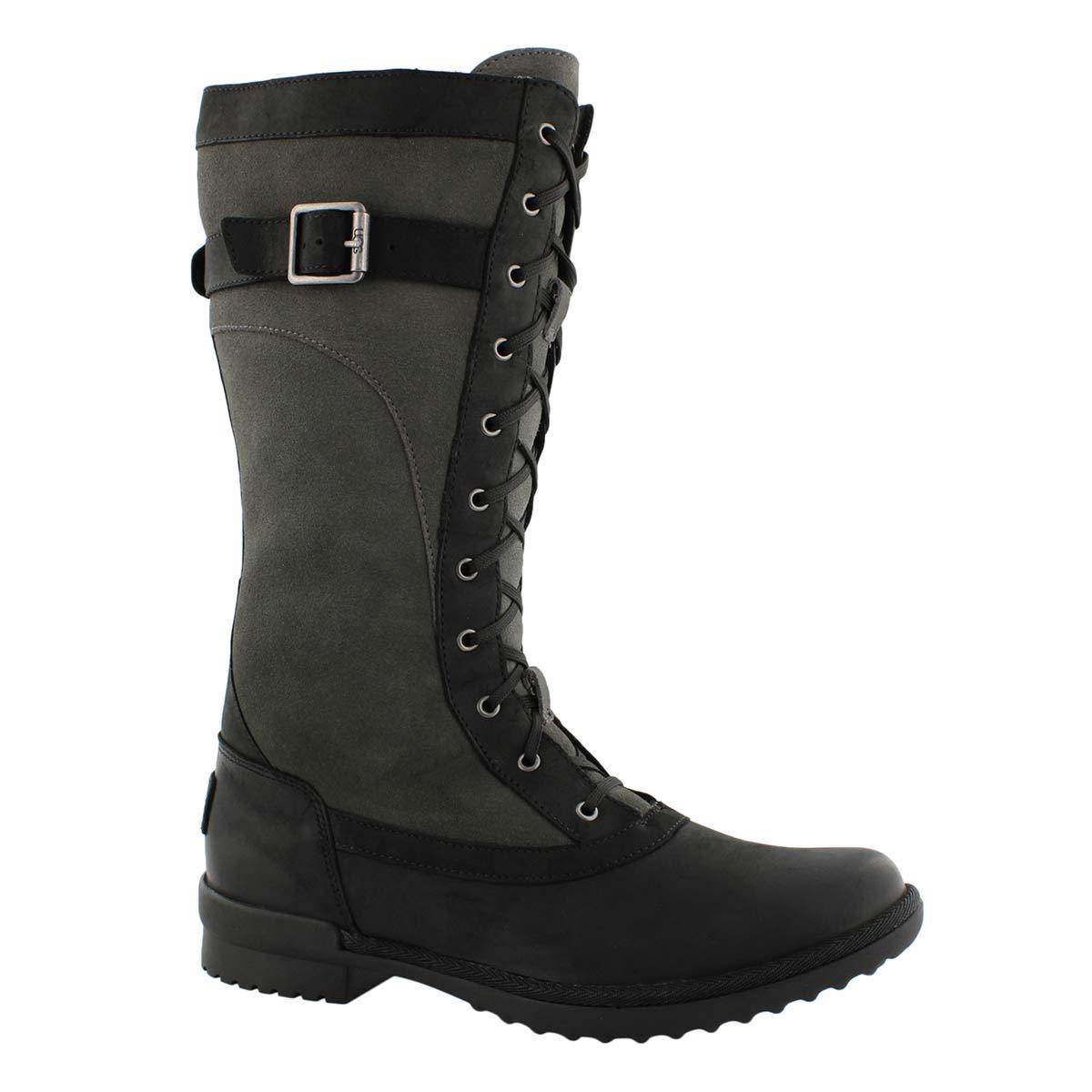 Lds Brystl Tall black wtpf mid calf boot