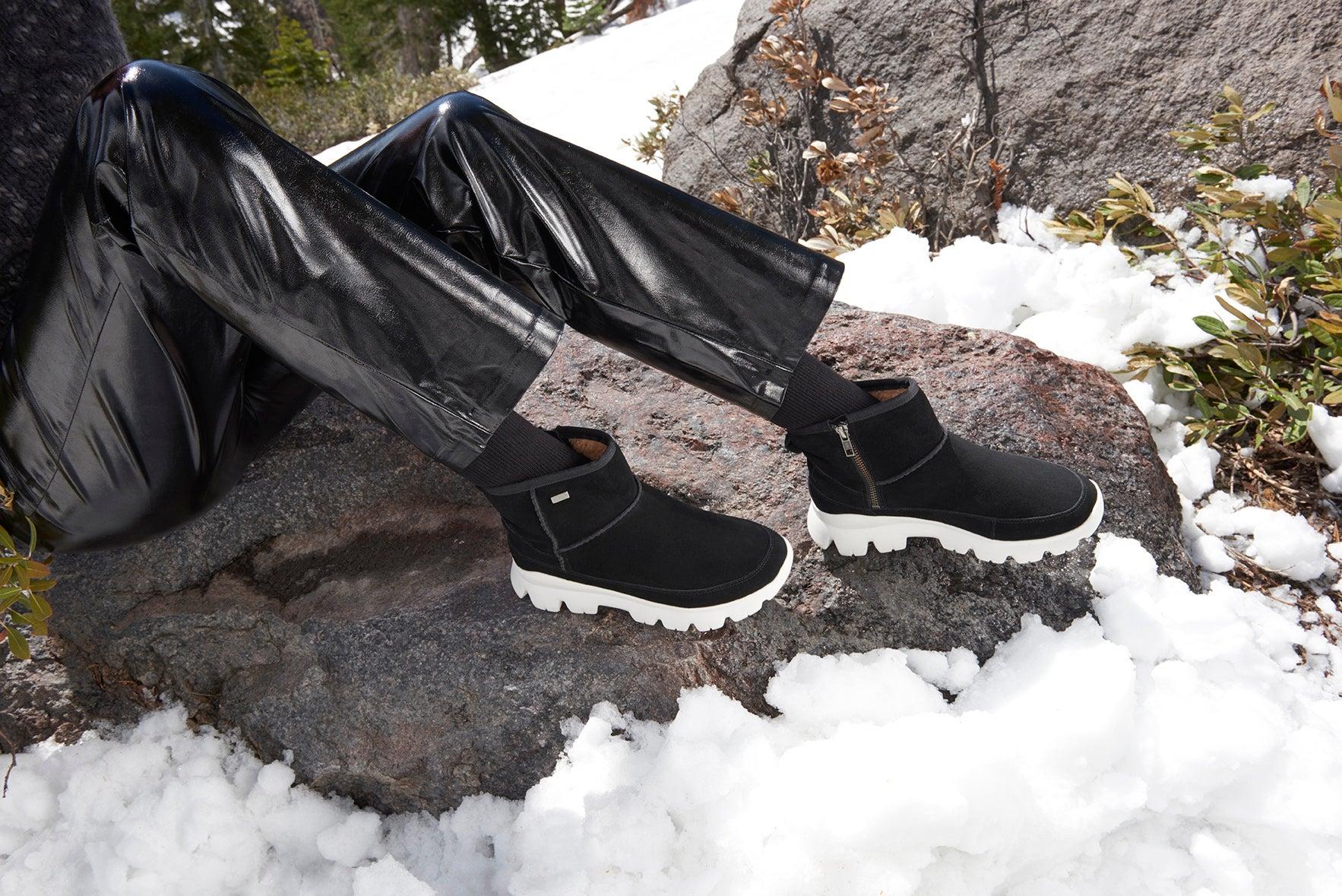 Lds Palomar blk/char wtpf winter boot