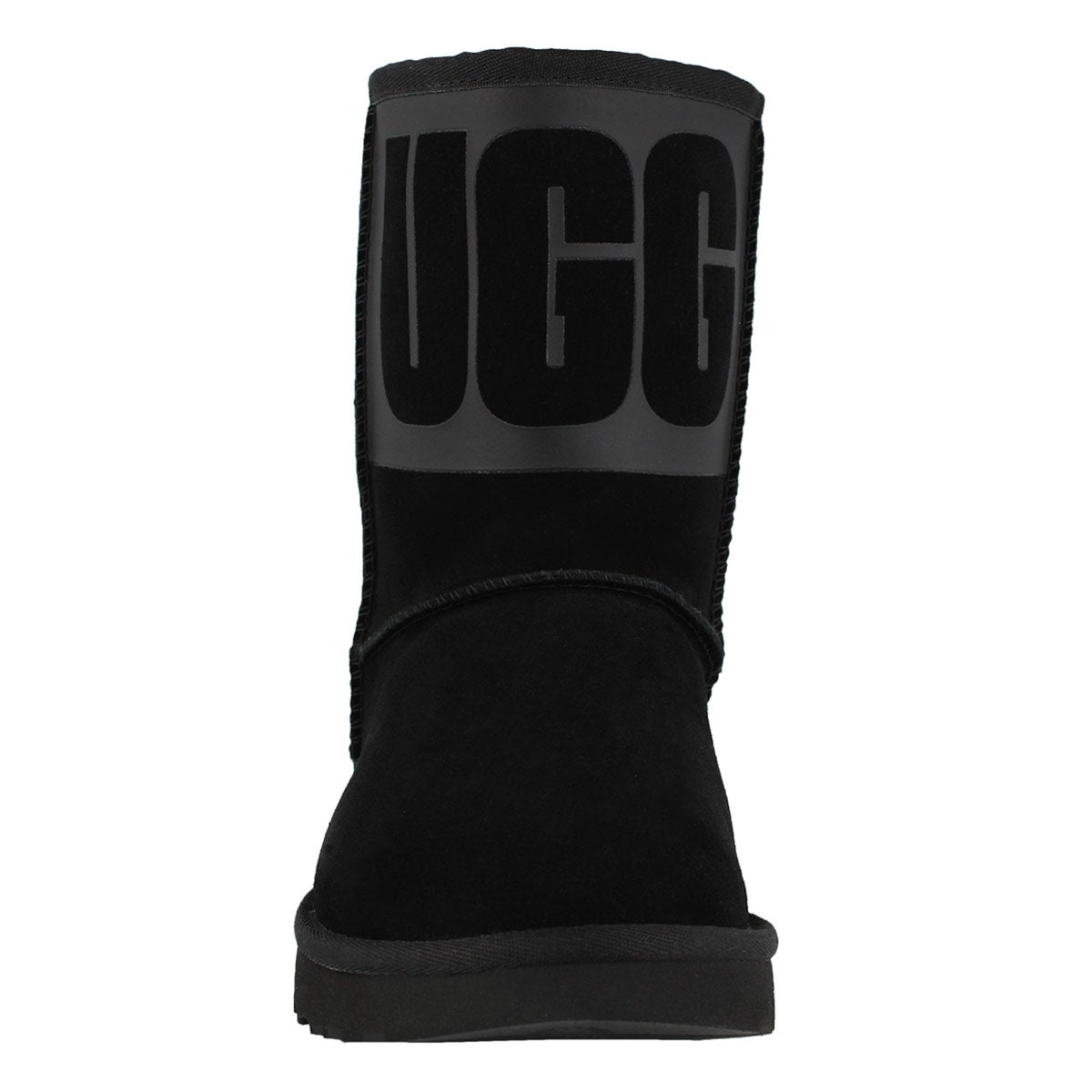 Lds Classic Short Ugg Rubber black boot