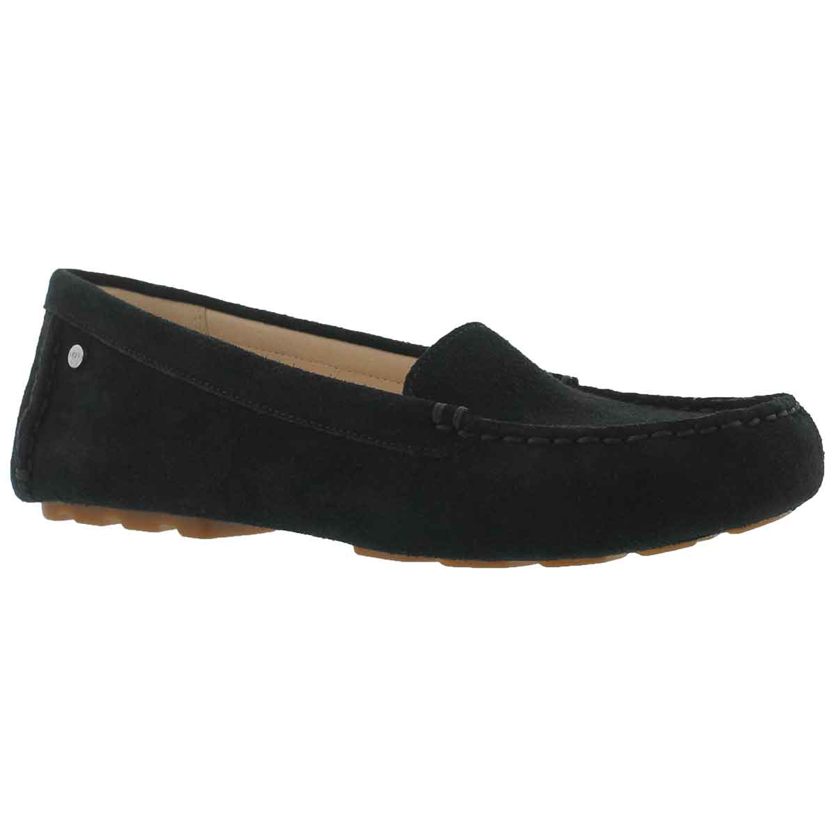 Women's MILANA black casual slip ons