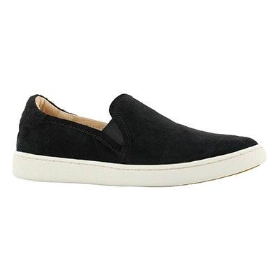 Lds Cas black casual slip on shoe