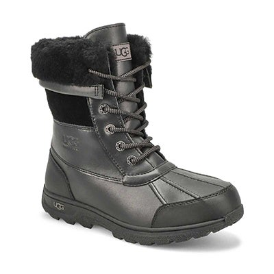 Kids Butte II CWR blk wtrpf winter boot