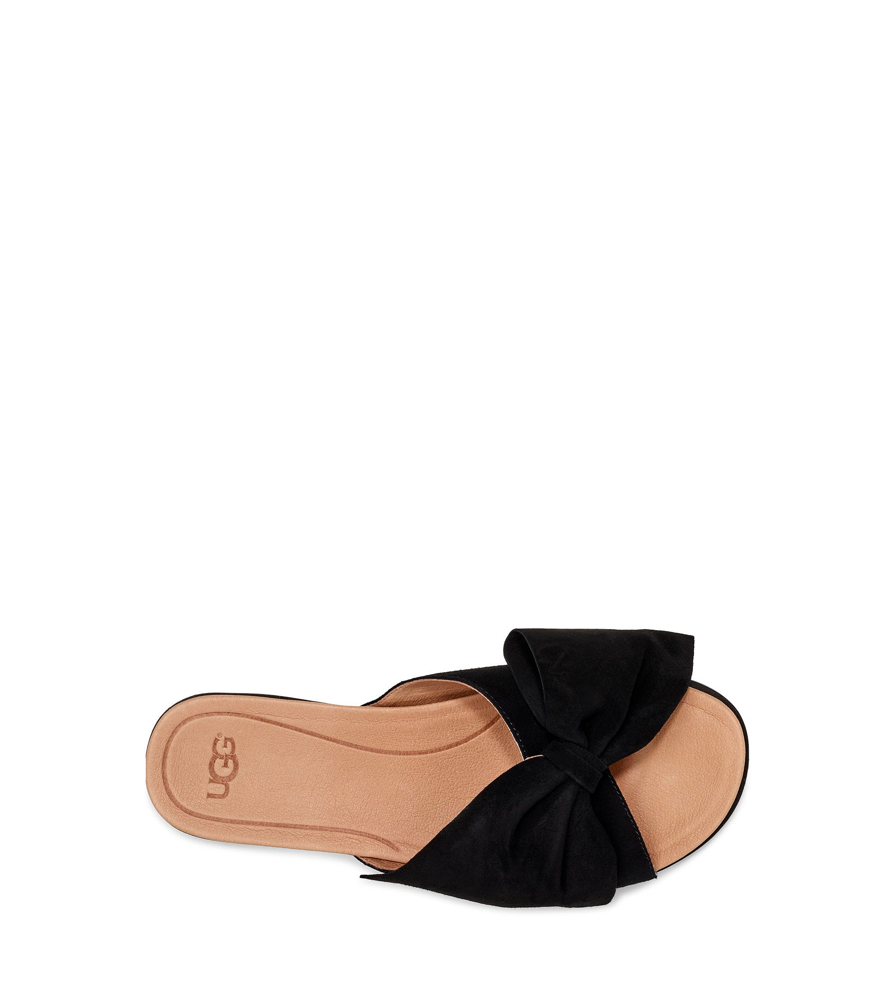 Lds Joan II black casual slide sandal