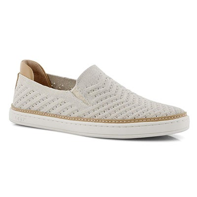 Lds Sammy Chevron Metallic jsmn slip on