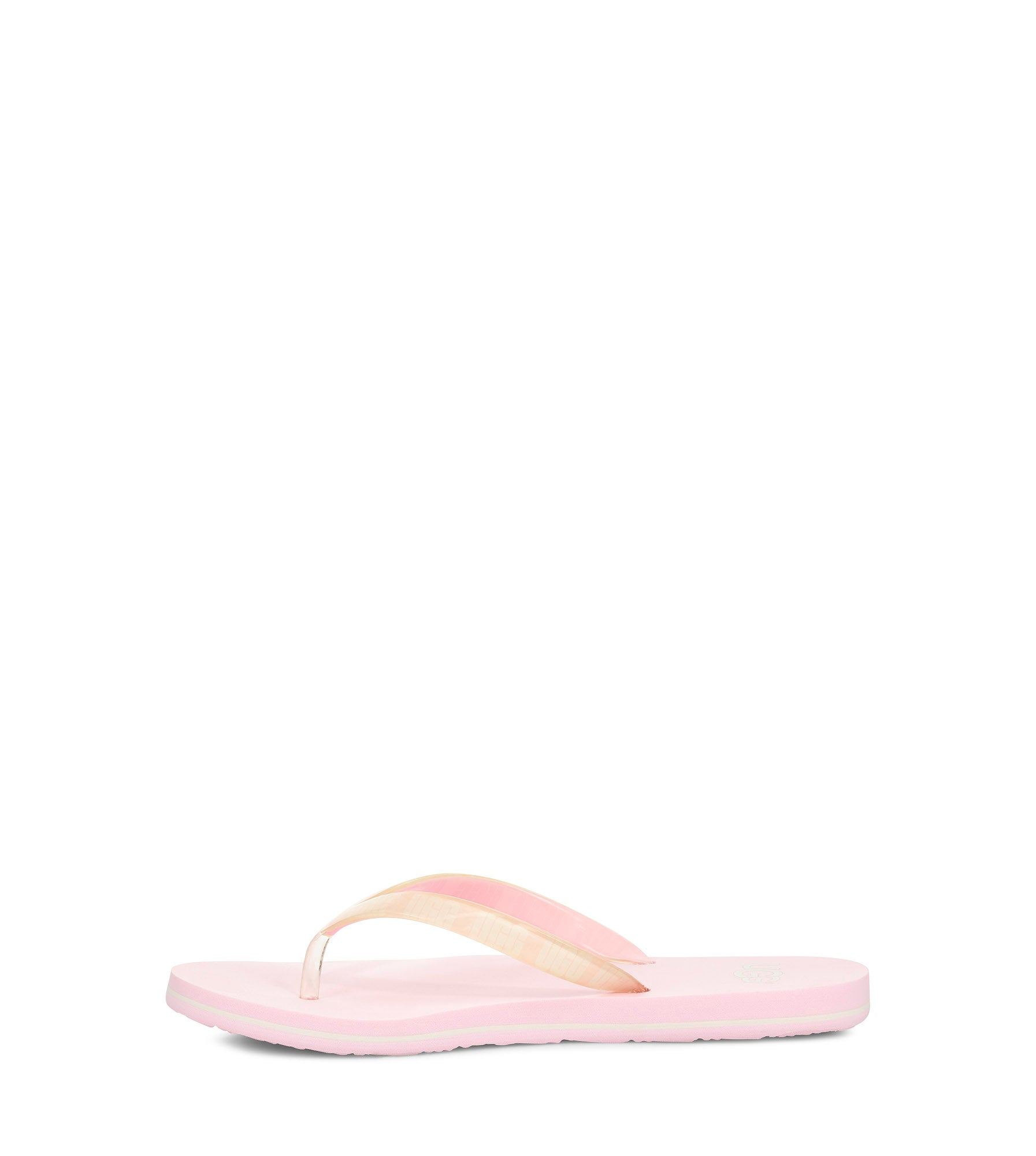 Lds Simi Graphic pink thong sandal