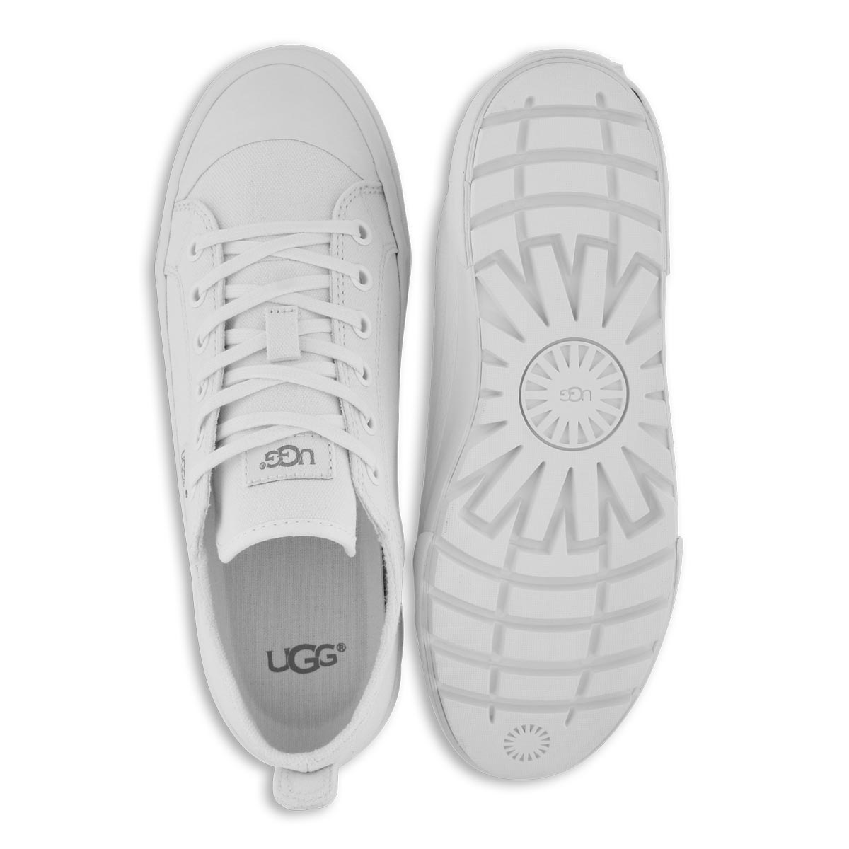 Lds Aries white casual sneaker