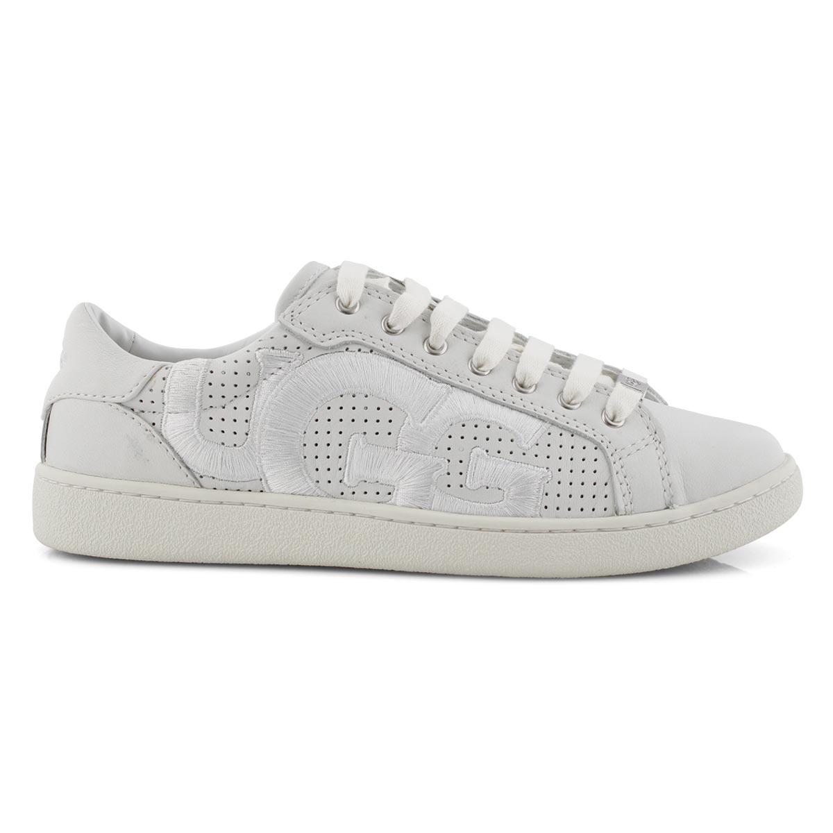 Lds Milo Graphic white casual sneaker