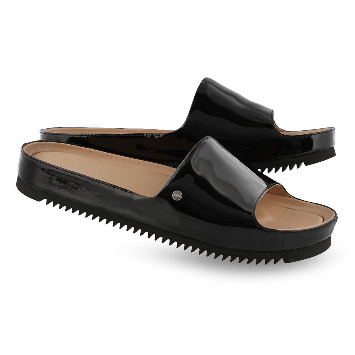 Lds Jane black slide sandal