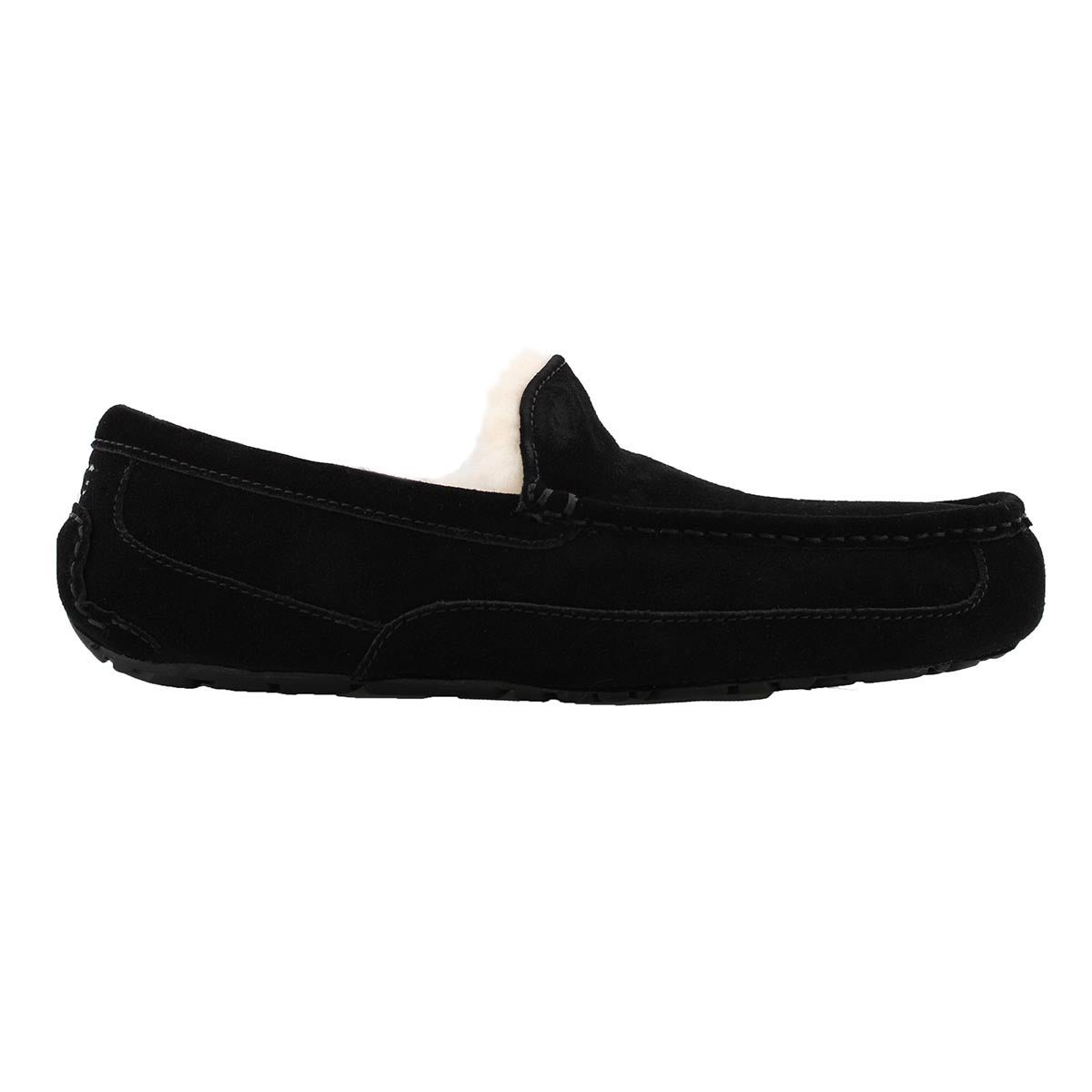 Mns Ascot black sheepskin slipper