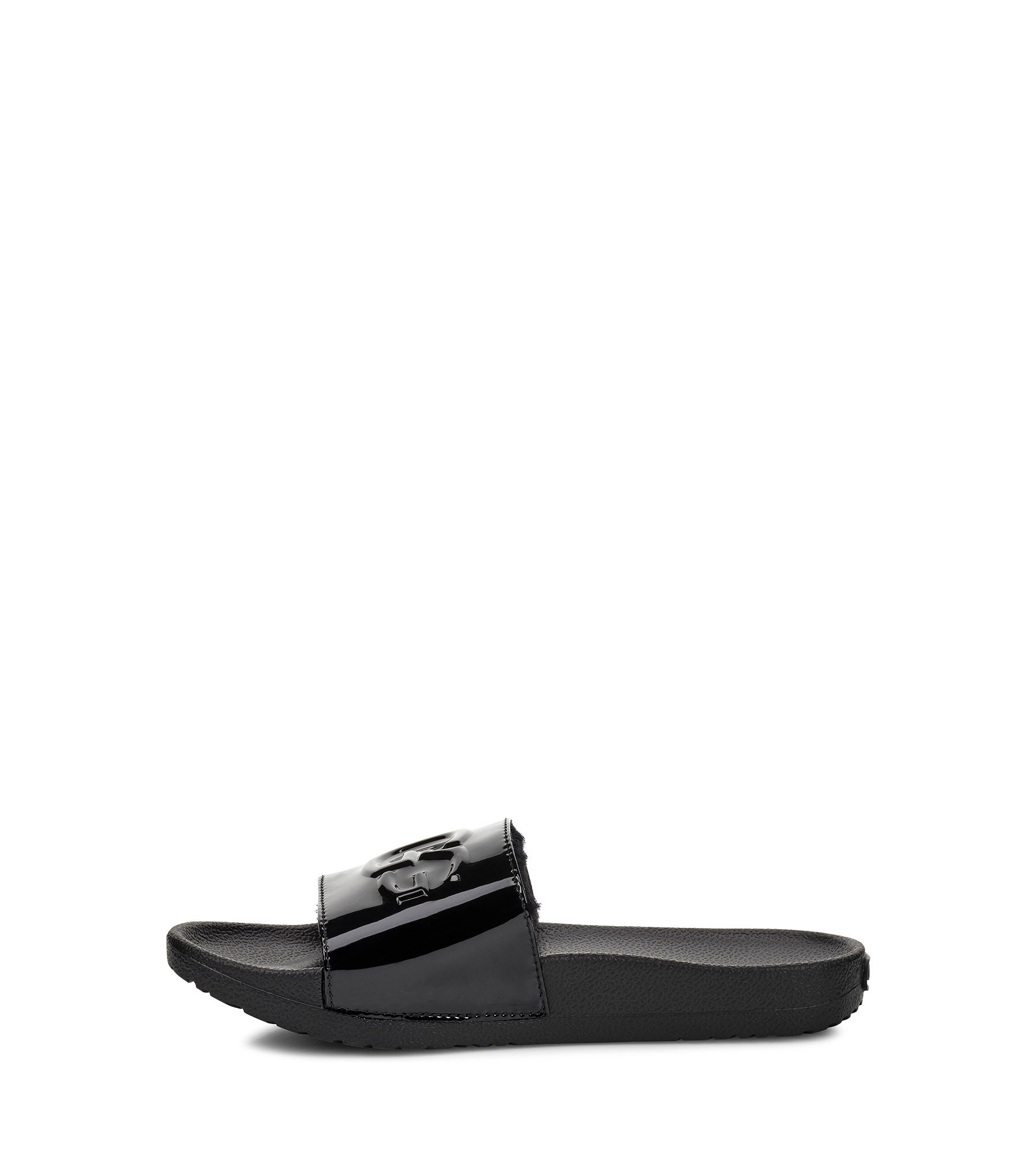 7005b53003a Women's ROYALE GRAPHIC METALLIC black sandals