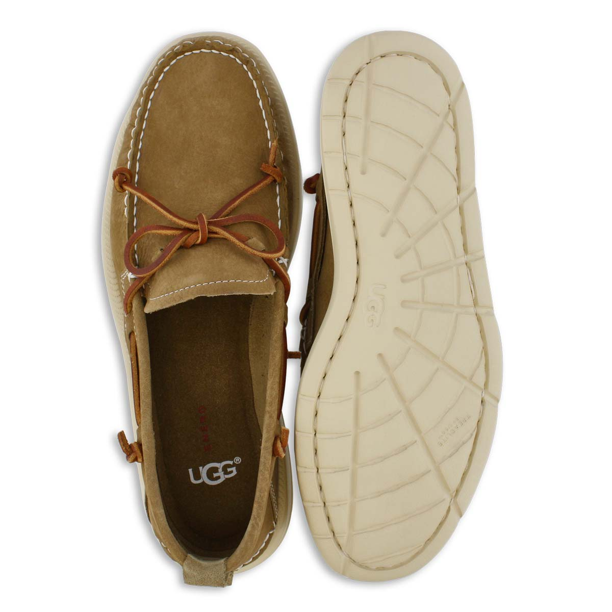 Mns Beach Moc Slip On caramel shoe