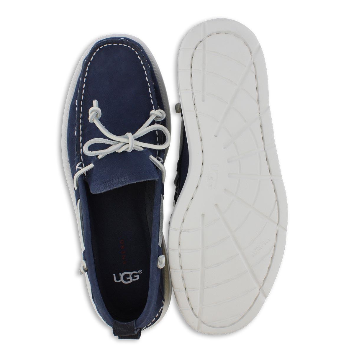 Mns Beach Moc Slip On true navy shoe