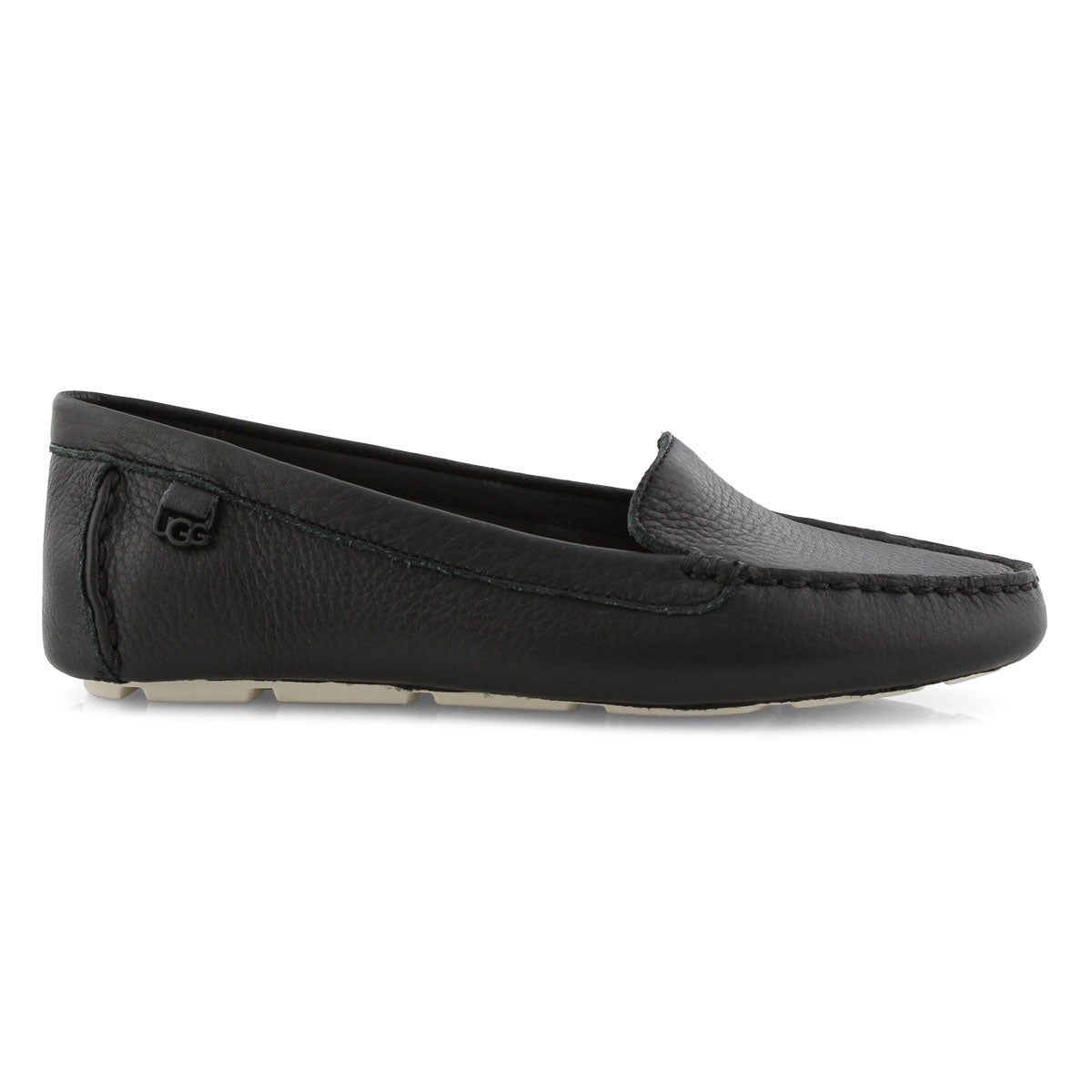 Lds Flores black casual slip on shoe