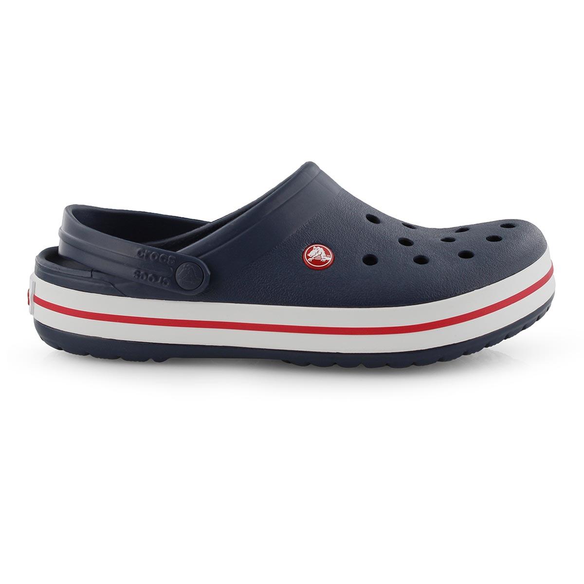 Mns Crocband navy EVA comfort clog