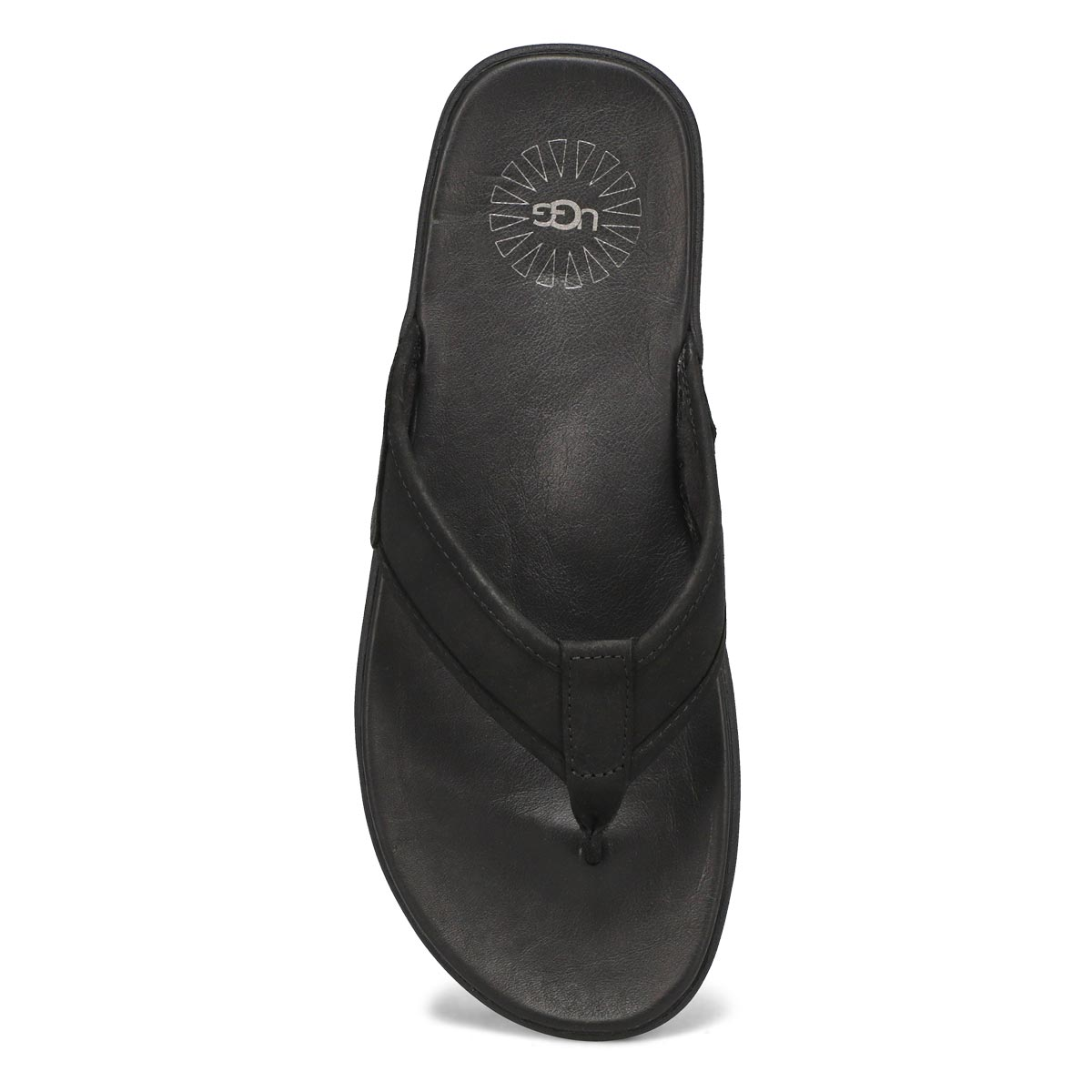 Mns Seaside Flip black thong sandal