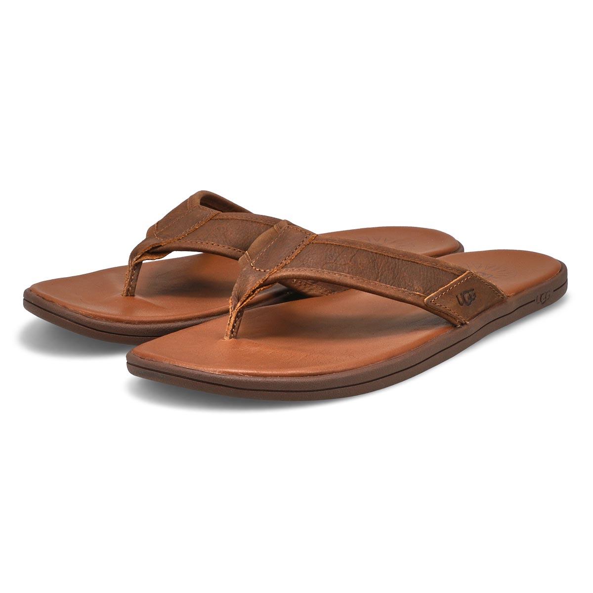 Tong Seaside Flip Leather,bagage, hom