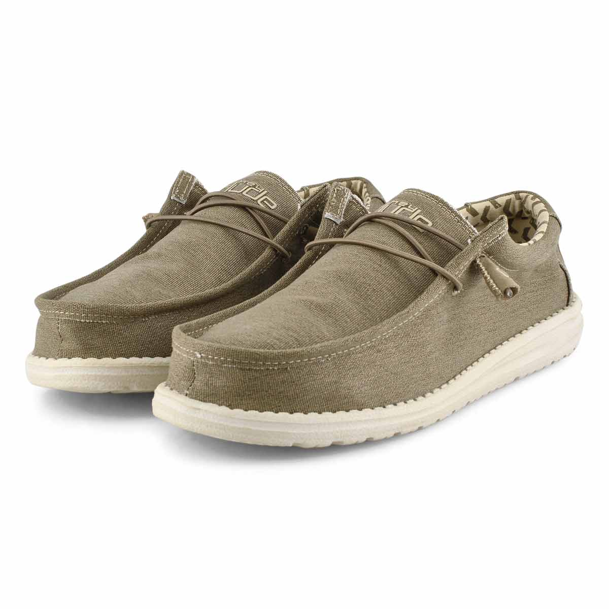 Mns Wally Stretch tobacco casual shoe