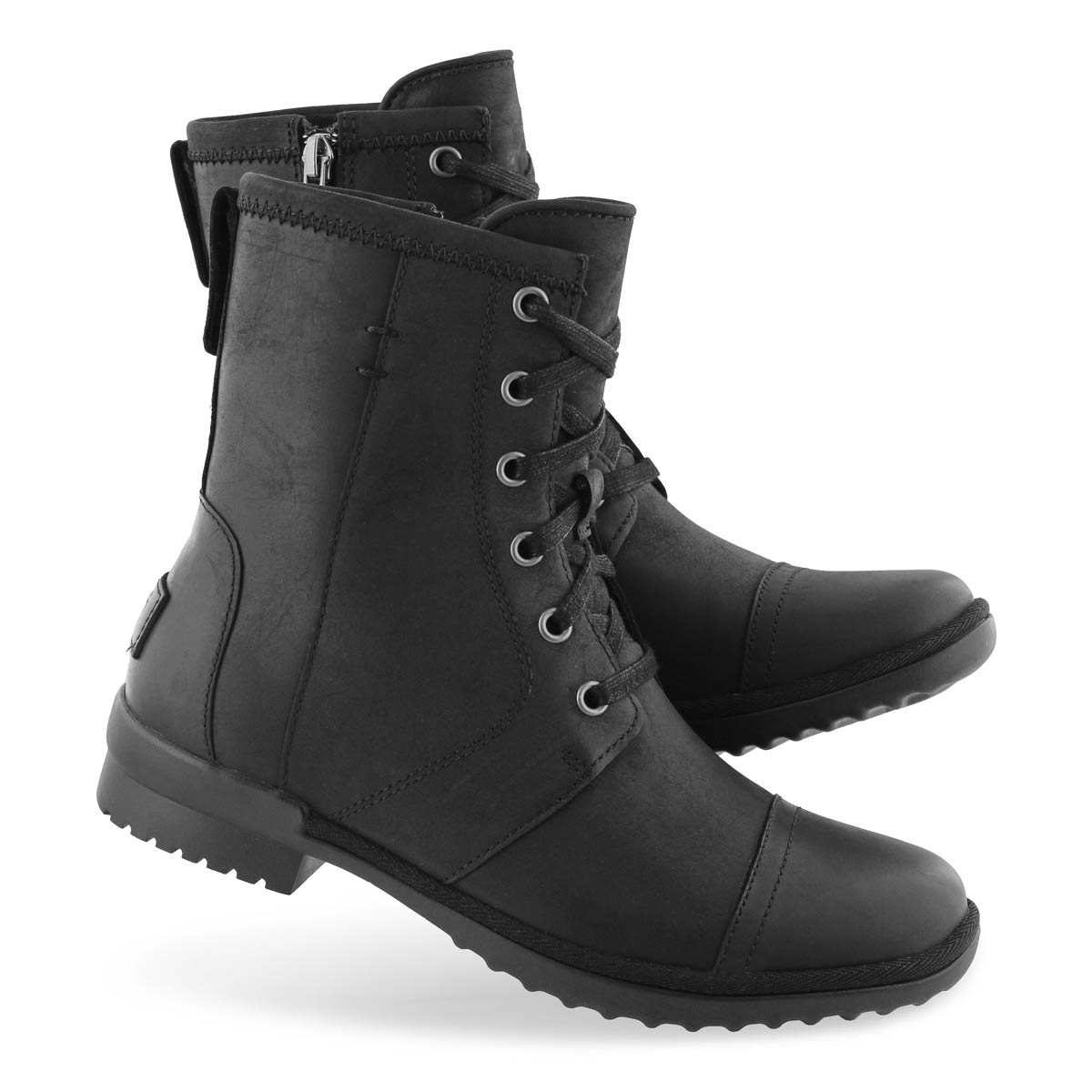 Lds Ashbury black lace up wptf boot