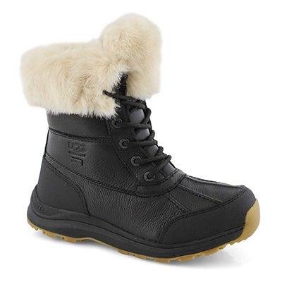 Lds Adirondack III Fluff blk winter boot