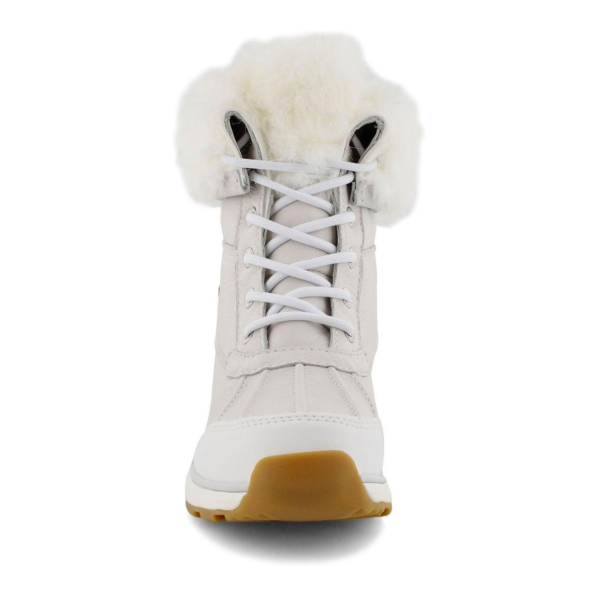 Lds Adirondack III Fluff wht winter boot