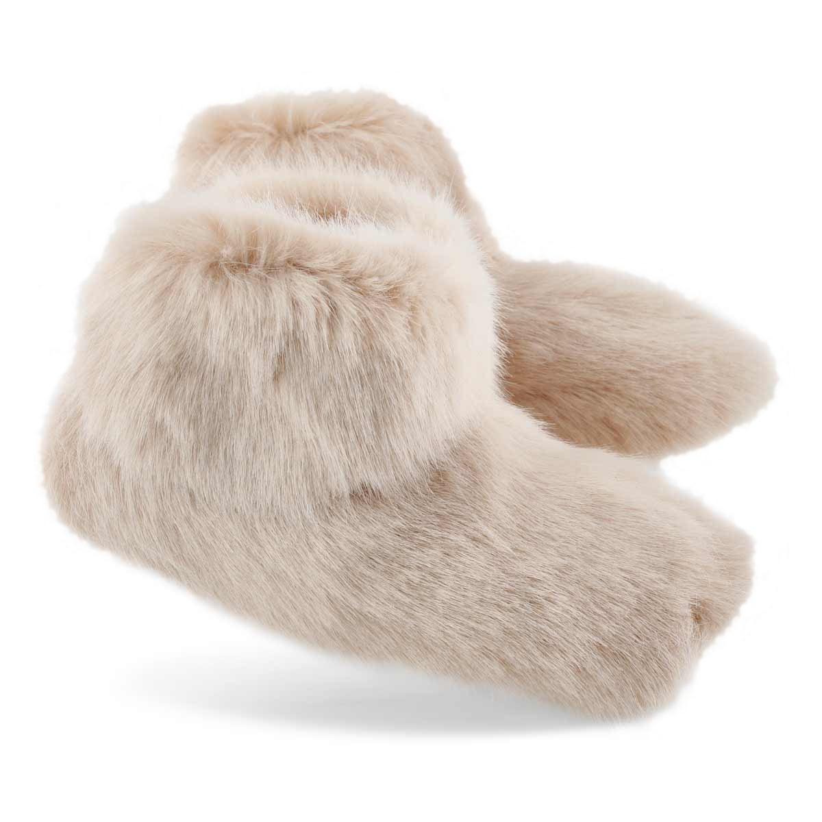 Lds Amary quartz bootie slipper