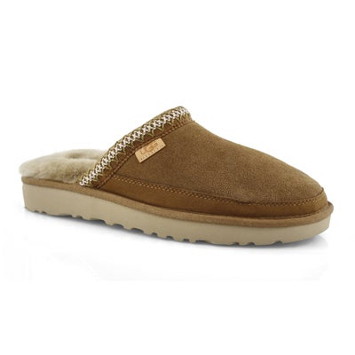 Mns Tasman ches shpskn open back slipper