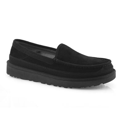 Mns Dex black slip on shoe