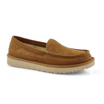 Mns Dex chestnut slip on shoe
