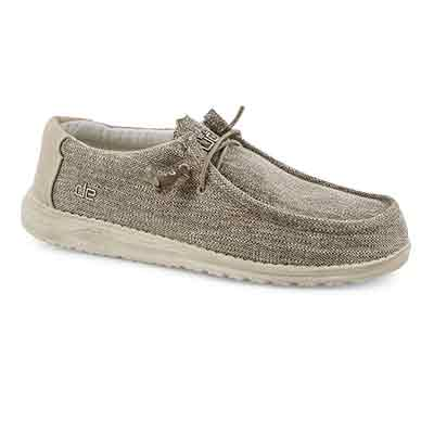 Mns Wally Woven beige casual shoe