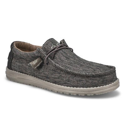 Mns Wally Woven carbone casual shoe