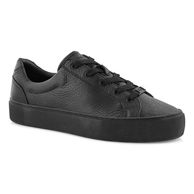Lds Zilo black lace up sneaker